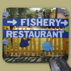 Fishery Restaurant Mouse Pad