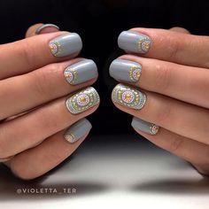 """Рубрика """"МОЙ МАНИКЮР"""" продолжается. 😊 И опять Paint Point. 💅🏻 #nailart #nails #nanoprofessional #nanlac2101"""