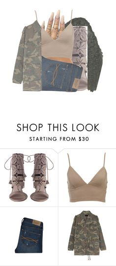 """""""Luh Ni*gga"""" by royaltyvoka ❤ liked on Polyvore featuring Floss Gloss, Abercrombie & Fitch and Yves Saint Laurent"""