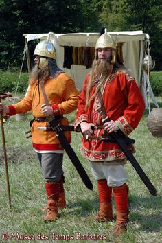 Merovingians 5th- 8th century (Franks) Medieval Costume, Medieval Armor, French History, European History, Celtic Warriors, Carolingian, Early Middle Ages, Iron Age, Dark Ages