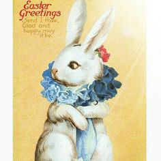 The Easter Bunny will be coming to town soon...#easterbunny #somebunnyspecial #easterrabbit #happyeaster #popcornvintagebytann