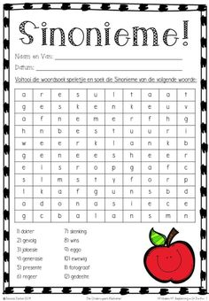 5 HT ('n Dame verkoop die interessante werksboeke op FB) Afrikaans Language, Sms Language, First Grade Math Worksheets, Worksheets For Kids, Too Cool For School, School Fun, Calendar Board, Self Improvement Quotes, Afrikaans Quotes