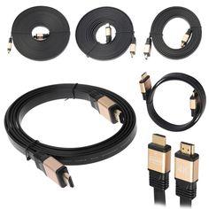 HDMI Кабель HDMI к HDMI кабель HDMI 2.0 4 К Плоским BLU-RAY 18 Гбит для HD ЖК-ТЕЛЕВИЗОР Ноутбук PS3 Проектор Компьютерный Кабель 1 м/1.8 м/3 м/5 м/10 м