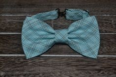 Blue Bow Tie Little Boys Bow Tie Baby Bow Tie by BrileyBean, $10.00