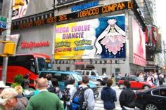 Pokemon Omega Ruby, Times Square, Broadway Shows, Sapphire
