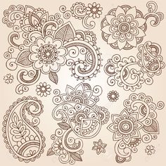 http://fr.123rf.com/photo_17164966_henna-mehndi-paisley-fleurs-tattoo-doodles-set-r-sum--l-ments-floraux-illustration-vecteur-de-concep.html?term=henna