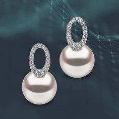 These Australian South Sea pearl and diamond earrings from our Trend Collection are just one of the new designs recently added to our…