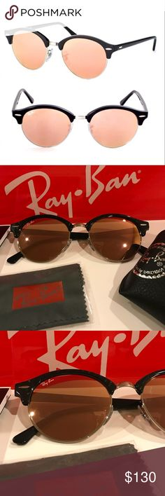55e8f4e014d RayBan Clubround Sunglasses New. Never worn. Perfect condition. Were on  display at an