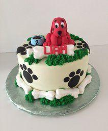Clifford Cake   Sugar Divas Cakery   Orlando   Cupcakes   Custom Cakes.       Www.sugardivascakery.com