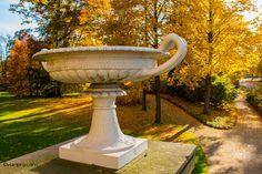 Herbst im Glienicker Park bei Berlin