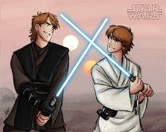 Et si Anakin Skywalker n'avait pas sombré du coté obscur...