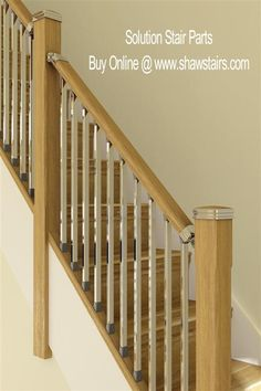 Solution Stair Parts Bundle 3000mm Rake Kit #modernstairs the new #staircase design offering a touch of contemporary and modern combined. www.shawstairs.com