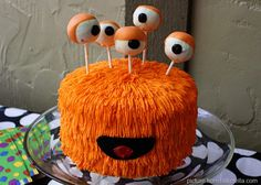 How cute for Halloween or a Monster Party!