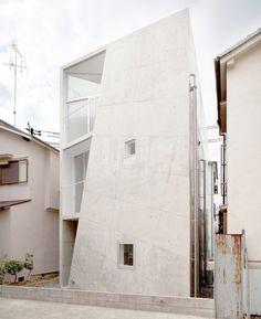House Folded by ALPHAville, Osaka, Japan
