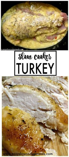 Delicious Slow Cooker Turkey & Gravy Recipe: Easy Slow Cooker Meals