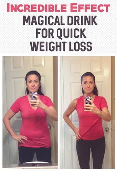 Incredible Effect – Magical Drink For Quick Weight Loss
