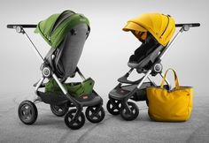 STOKKE STORIES: For life in the fast lane, new Stokke Scoot Style Kits made in the tradition of European racing.