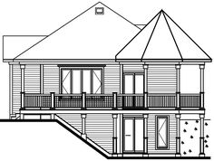 Beach with 1 Bedroom and 1 Bath - House Plan 1145 | Direct from the Designers