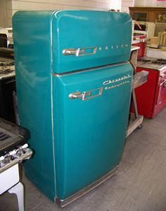 1961 Philco Refrigerator,, Please visit our site and compare price before you buy: http://www.bdcost.com/refrigerators
