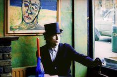 Bob Dylan by Ana María Vélez Wood - Camden Town, London 1993