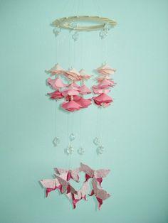Móbile de origami