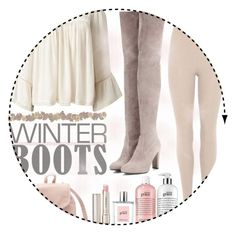 """So Cozy: Winter Boots 3"" by moonlight-shadows ❤ liked on Polyvore featuring Miss Selfridge, Charlotte Russe, By Terry, philosophy, adidas Originals and Stuart Weitzman"