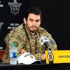 Adam McQuaid earned the 'Bruins Player of the Game' jacket for his game winning goal vs. PIT #nhlbruins