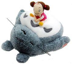 Sleeping Totoro with Mei Plush Doll Studio Ghibli My Neighbor Totoro Japan F/S