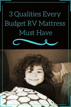 RV mattresses are often quite uncomfortable. Most people replace them soon after purchasing their RVs. Here are three of the qualities that are most important when researching the right budget RV mattress. Rv Homes, Motor Homes, Rv Mattress, Rv Camping, Family Camping, Glamping, Rv Organization, Rv Travel, Travel Trailers