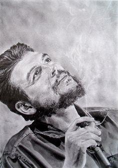"""Ernesto Rafael """"Che"""" Guevara de la Serna  14.05.1928 - 09.10.1967    Seamos realistas y hagamos lo imposible. Seien wir realistisch, versuchen wir das Unmögliche."""