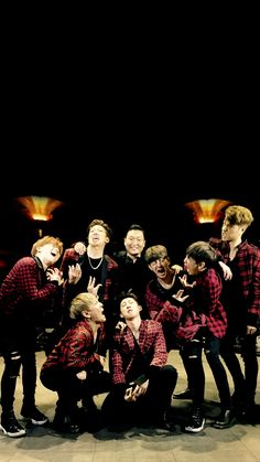 Psy & iKON Wallpaper cr: yglockscreen