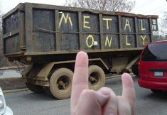 Metal Only! Recycle elsewhere =) #music #metal #meme