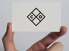 Identity for Common Office architects. September 2011 / R&D / Daniel Olsson and Jonas Topooco