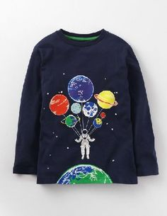 Mini Boden Ground Control T-shirt Midnight/Astronaut Boys These spacemen know adventure and fun go hand in hand. Our T-shirt is made from 100% cotton jersey so its ideal for staying warm and active. But be careful: the logos glow in the dark, so its best not http://www.MightGet.com/january-2017-13/mini-boden-ground-control-t-shirt-midnight-astronaut-boys.asp