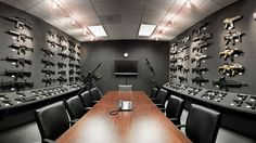 From overstocked tactical arsenals to exquisitely decorated halls, here's a roundup of 100 of the best gun rooms in existence.