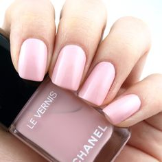 """Chanel Spring/Summer 2018   Le Vernis in """"588 Nuvola Rosa"""": Review and Swatches"""