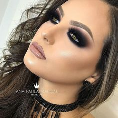 If you want to enhance your eyes and also increase your appearance, finding the very best eye make-up tips can help. You'll want to be sure you put on make-up that makes you start looking even more beautiful than you are already. Makeup Trends, Makeup Inspo, Makeup Inspiration, Makeup Ideas, Black Eye Makeup, Glam Makeup, Bridal Makeup, Dark Smokey Eye Makeup, Dark Makeup Looks