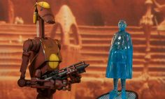 Star Wars Geonosis Commander Battle Droid and Count Dooku Ho | Sideshow Collectibles