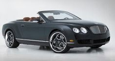 Staggered wheels for Bentley Continental GTC