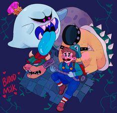 king boo   Tumblr Mario Fan Art, Mario Bros., Mario And Luigi, Super Mario Smash, Super Mario Art, Nintendo World, Nintendo Games, Luigi And Daisy, Green Warriors
