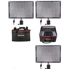 Aputure LED Set: 3x AL-528S CRI95  Tas  Aputure LED Set: 3x AL-528S CRI95  Tas Nieuw nu met Color Rendering Index van 95! Deze set bestaat uit: 3x AL-528S en 1x grote studiotas De Aputure LED AL-528S is een duurzame spotlight lampmet een stralingshoek van 25 graden. Deze lamp heeft een vermogen van 30W en geeft op een afstand van 1 meter4380 Lux/m af. Voor bijzondere lichteffecten en het uitlichten van een groot gebied is de Aputure LED AL-528S een zeer goede keus. De CRI-waarde van de…