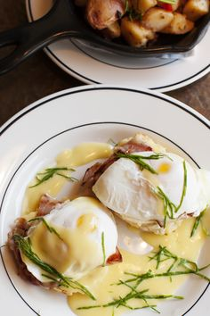 Biscuit Eggs Benedict