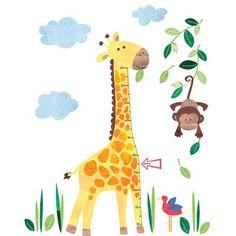Nice JoJo Maman Bébé Giraffe Height Growth Chart Wall Decal U0026 Reviews | Wayfair