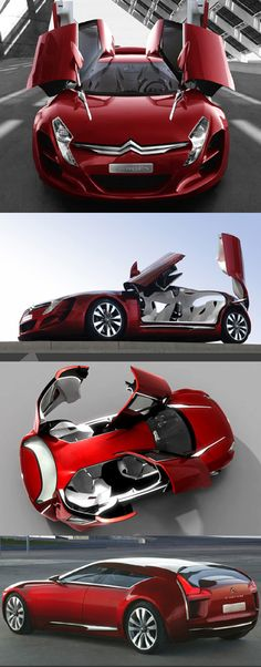 The Citroen C-Metisse is a 4-door, 4-seat, coupe concept which went on display at the 2006 Paris Motor Show.