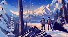 Mesmerizing Illustrations by Brian Edward Miller