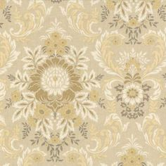 Anna Griffin fabric, Juliet damask grey