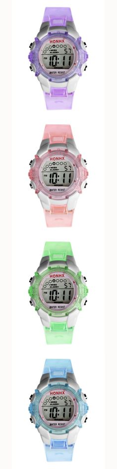 Tooptoot 2016 Multifunction Kids Watch Boy Girls Children LED Digital Watches Sports Wrist Watch Child Gift Relogio masculino