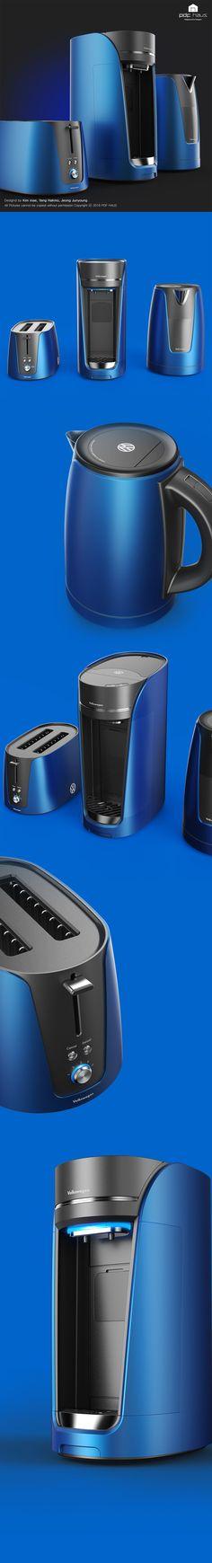Volkswagen / Kitchen appliance / Product design / Industrial design / 제품디자인 / 산업디자인 / 디자인교육_PDF HAUS Design Academy