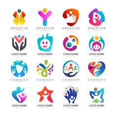 More than 3 millions free vectors, PSD, photos and free icons. Exclusive freebies and all graphic resources that you need for your projects Logo Academia, Layout Banner, Logo Design Services, Branding Design, Teamwork Logo, Logo Abstrait, Logo Foto, Bridge Logo, Bussiness Card