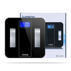 Bathroom Scale Décor   Bathroom Weight Scale Lumsing Digital Body Fat Scale with Tempered Glass Surface and 10 Users Auto Recognition 400lbs180kg Capacity Black -- Continue to the product at the image link.(It is Amazon affiliate link) #likesforlikes